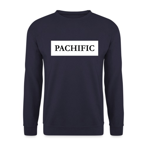 Original Be Pachific print black on white - Unisex Pullover