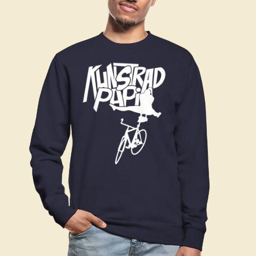 Kunstrad | Artistic Cycling - Kunstrad Papi white - Unisex Pullover