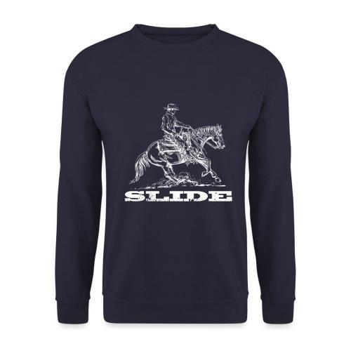 Sliding Stop Westernreiter Reining - Männer Pullover