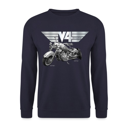 Royal Star silver Wings - Unisex Pullover