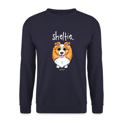 Sheltie Dog Cute 5 - Unisex Sweatshirt