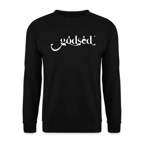 Godsèd Logo Officiel 1 Blanc - Sweat-shirt Unisexe