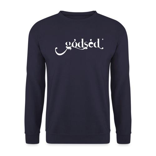 Godsèd Logo Officiel 1 Blanc - Sweat-shirt Unisex