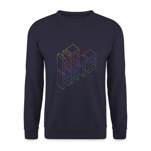NO HATE - Männer Pullover