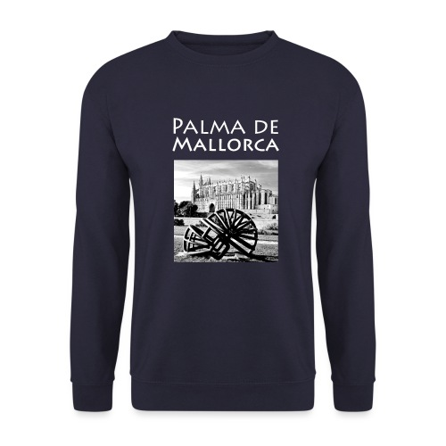Palma de Mallorca mit Cathedrale Heiligen Maria - Männer Pullover