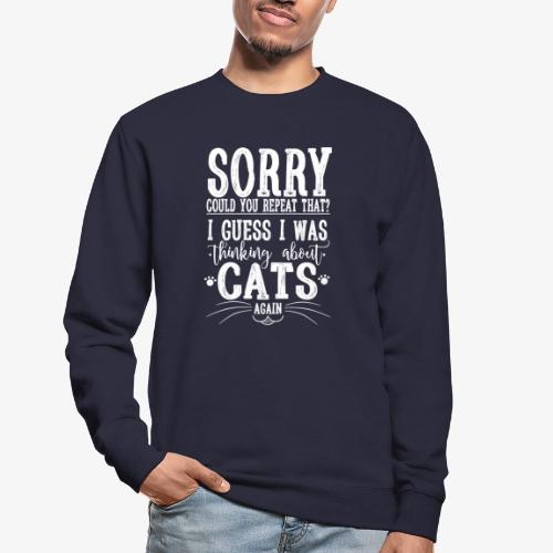 Sorry Cats II - Unisex svetaripaita