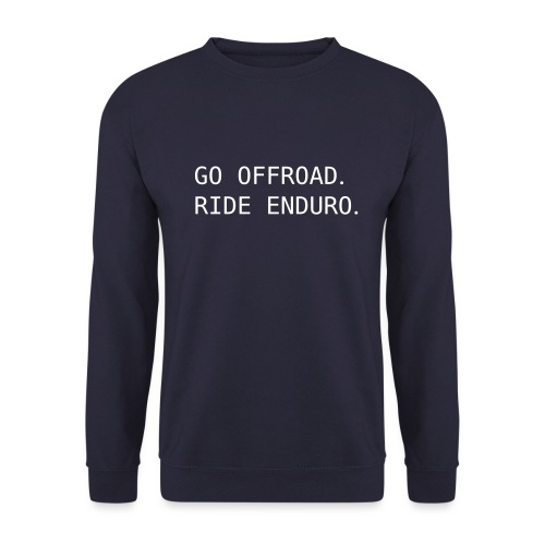 ride offroad. ride enduro. 0EN01 - Unisex Sweatshirt