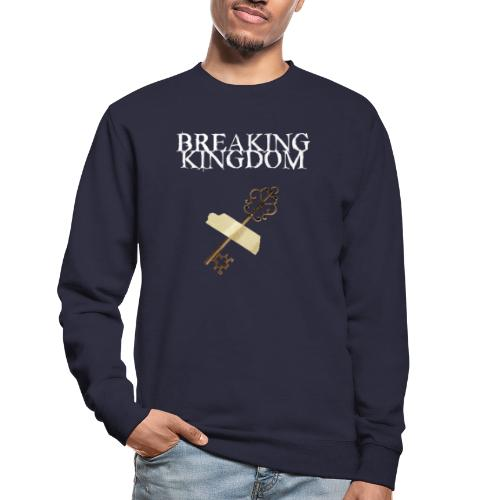 Breaking Kingdom schwarzes Design - Unisex Pullover
