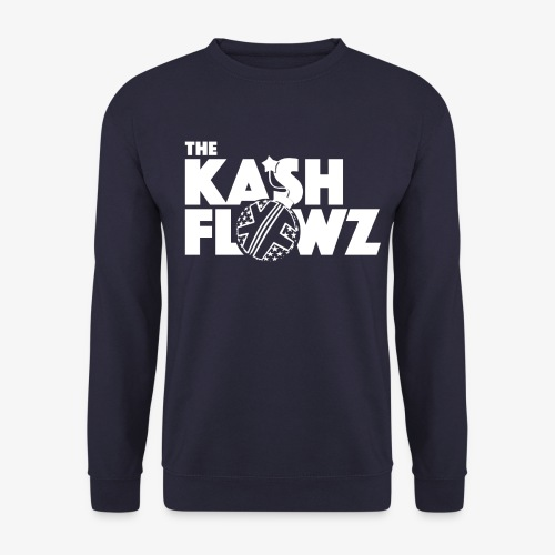 The Kash Flowz Official Bomb White - Sweat-shirt Homme