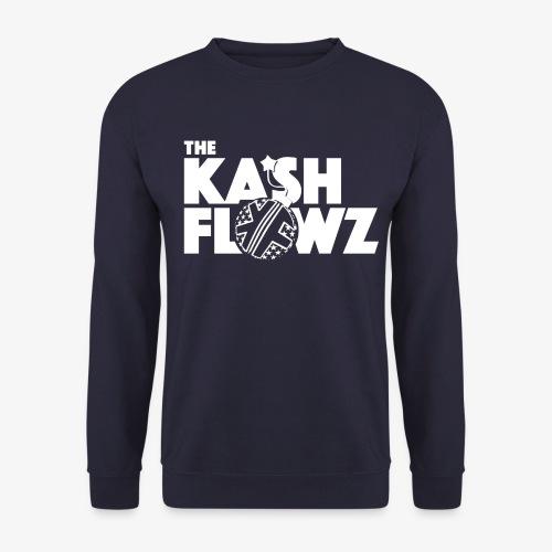 The Kash Flowz Official Bomb White - Sweat-shirt Unisex