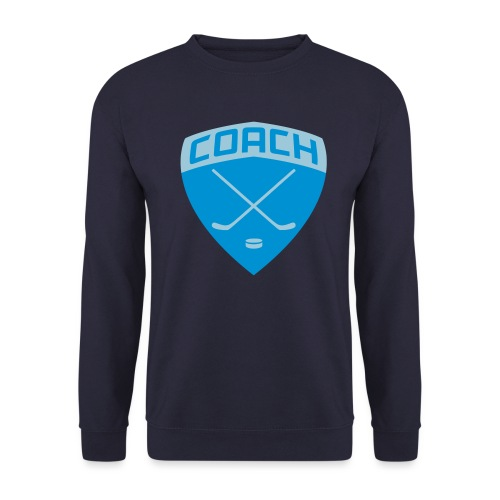 ice-hockey-coach-blue_vec - Men's Sweatshirt