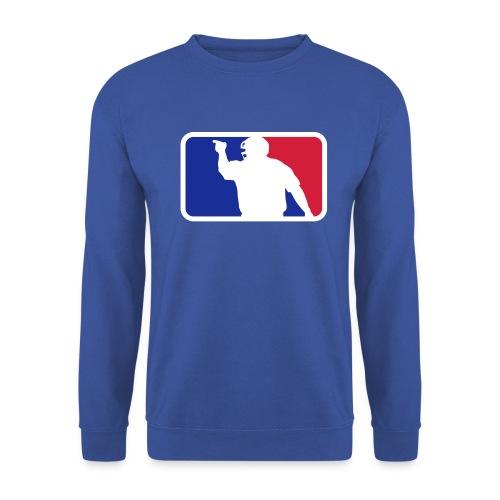 Baseball Umpire Logo - Men's Sweatshirt