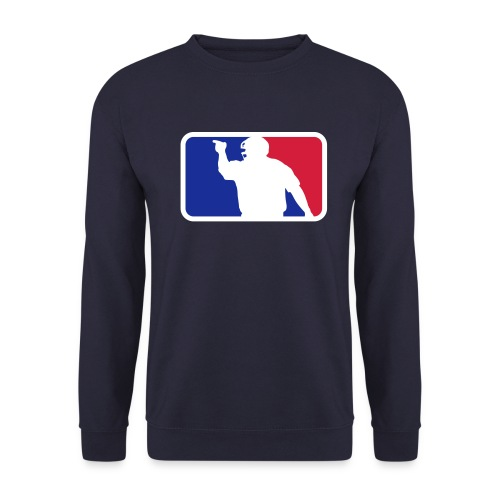 Baseball Umpire Logo - Men's Sweatshirt