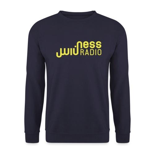 logo ness typo jaune - Unisex Sweatshirt