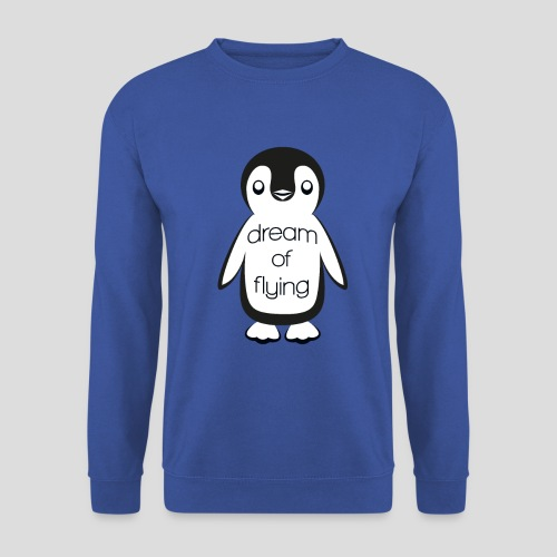 Dream of Flying Pinguin - Men's Sweatshirt