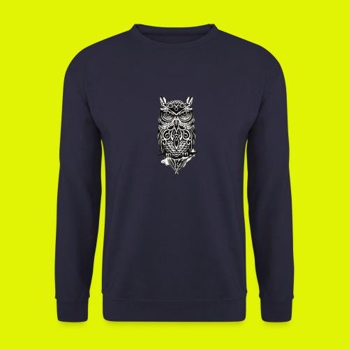 maglietta gufo - Felpa unisex