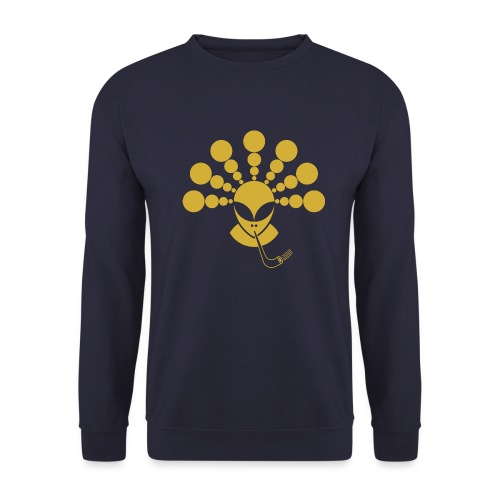 The Gold Smoking Alien - Unisex Sweatshirt