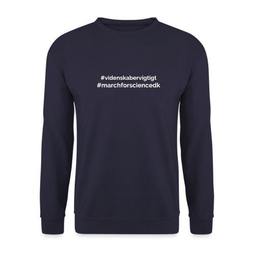 March for Science Danmark - Unisex Sweatshirt