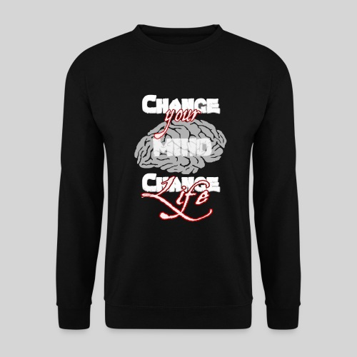 change your mind change your life - Männer Pullover