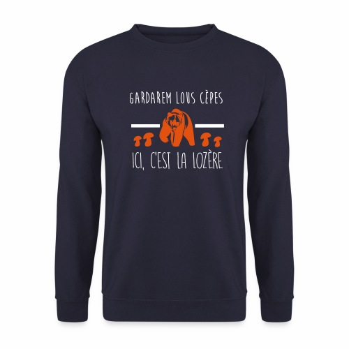 Gardarem Lous Cèpes Bicolore - Sweat-shirt Homme