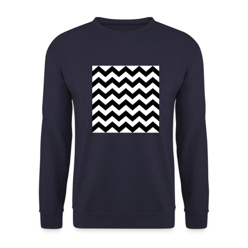 zigzag png - Sweat-shirt Homme