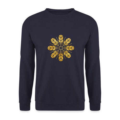 Inoue clan kamon in gold - Unisex Sweatshirt