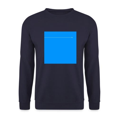 sklyline blue version - Sweat-shirt Homme