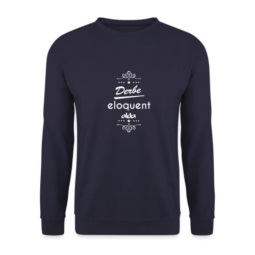 Derbe Eloquent Alda Weiß - Unisex Sweatshirt