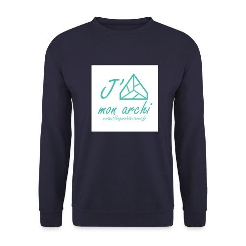 J aime mon archi - Sweat-shirt Unisex