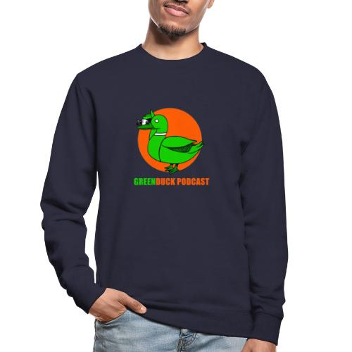 Greenduck Podcast Logo - Unisex sweater