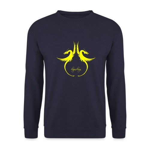 yellow-dragon-dance_01 - Männer Pullover