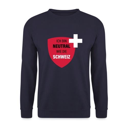 Neutral wie die Schweiz - Männer Pullover