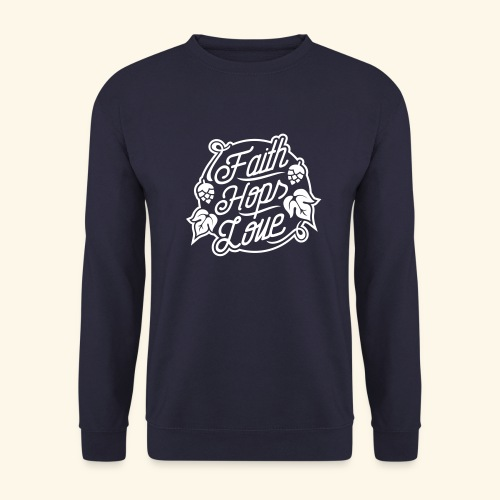 Faith, Hops, Love - Männer Pullover