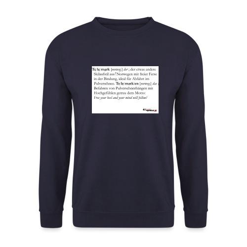Telemark - die Definition - Männer Pullover