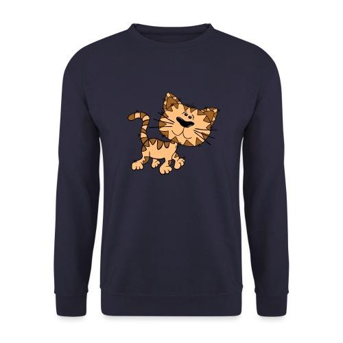 Cat - Männer Pullover
