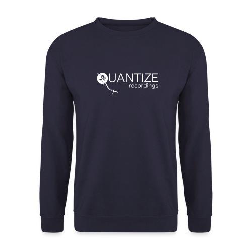 Quantize White Logo - Unisex Sweatshirt