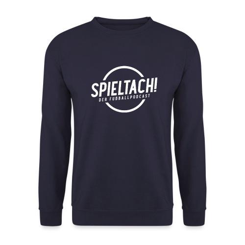 Logo Spieltach - Weiß - Unisex Pullover