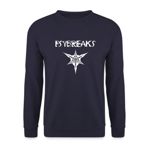 Psybreaks visuel 1 - text - white color - Sweat-shirt Unisex
