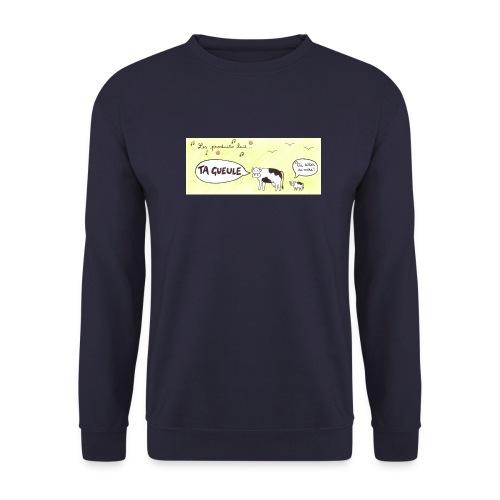 Vache pas laitière - Sweat-shirt Homme