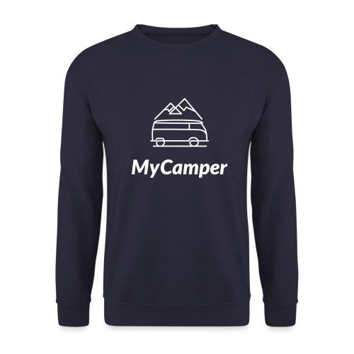 MyCamper Logo Weiss - Unisex Pullover