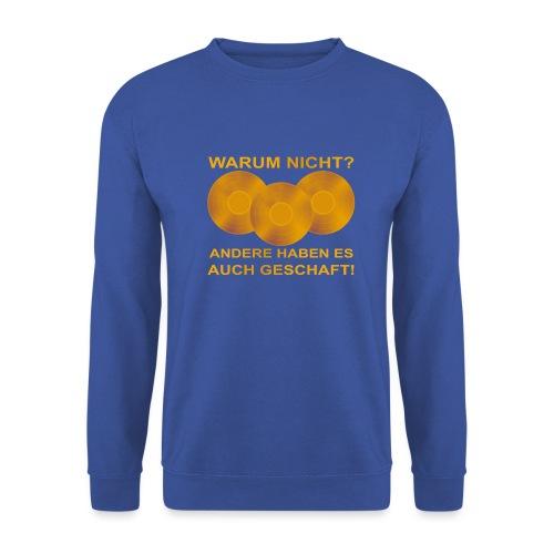 Goldene Schallplatte - Männer Pullover