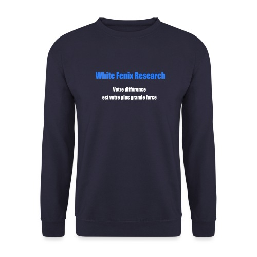 WFR Votre différence est votre plus grande force - Sweat-shirt Homme