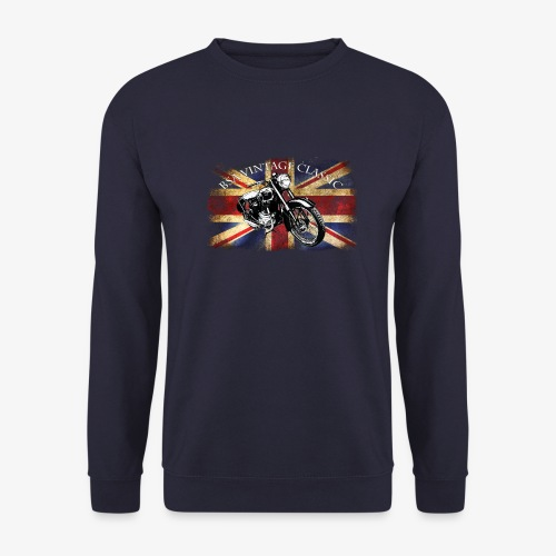 Vintage famous Brittish BSA motorcycle icon - Unisex Sweatshirt