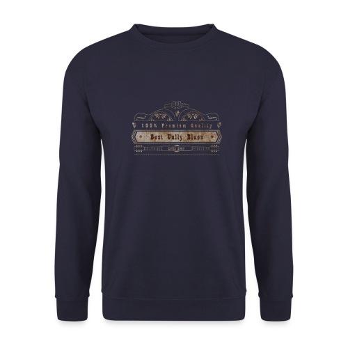 Dobro Best Vintage Vully Blues Rust auf Schwarz - Unisex Pullover