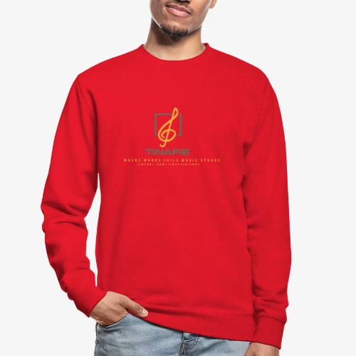Where Words fails Music speaks!!! - Unisex sweater