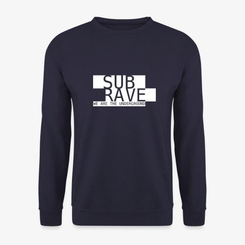 SUBRAVE Logo - Männer Pullover