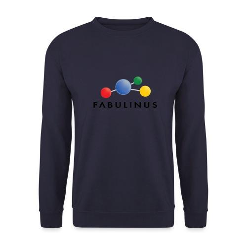 Fabulinus Zwart - Mannen sweater