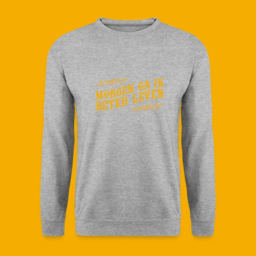 tshirt yllw 01 - Unisex sweater