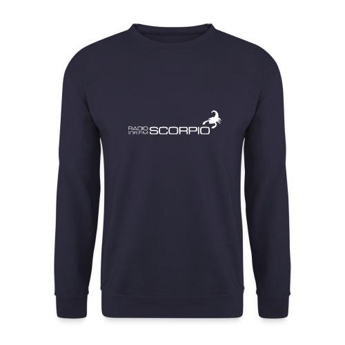 scorpio logo wit - Unisex sweater