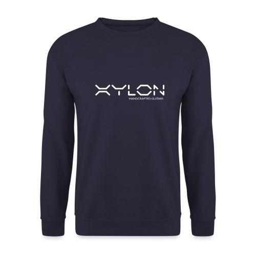Xylon Handcrafted Guitars (name only logo white) - Men's Sweatshirt